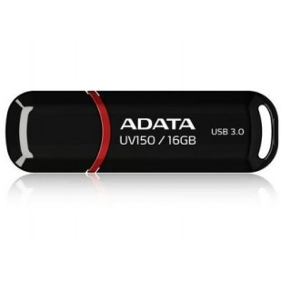 USB STICK ADATA; model: AUV150-16G-RBK; capacitate: 16 GB; culoare: NEGRU; USB 3.0