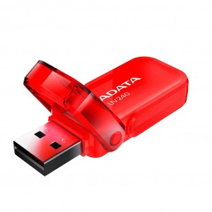 "USB 2.0 16GB ADATA UV240 Red ""AUV240-16G-RRD"" (include timbru verde 0.01 lei)"