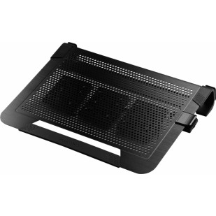 "Stand notebook COOLER MASTER NOTEPAL U3 PLUS, 19"", aluminiu, 3x ventilatoare 80mm, Black (R9-NBC-U3PK-GP)"