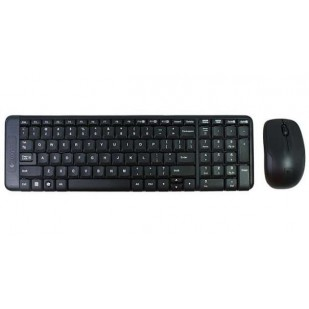Kit Tastatura + Mouse LOGITECH; model: MK220; NEGRU; USB; WIRELESS;