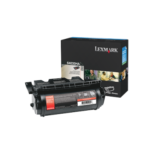 Cartus: Lexmark T640, 642, 644 (Also compatible with OEM #64015SA, 64015HA, 64435XA, 64415XA)