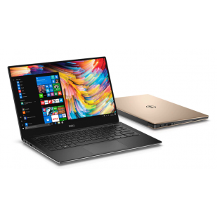 Laptop DELL, XPS 13 9360,  Intel Core i7-7500U, 2.70 GHz, HDD: 128 GB, RAM: 8 GB, video: Intel HD Graphics 620, webcam