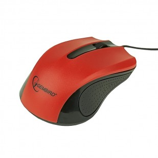 Mouse optic GEMBIRD, 1200dpi, USB, Red (MUS-101-R)