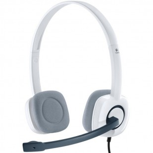 """Casti Logitech  """"H150"""" Stereo Headset with Microphone, Cloud White """"981-000350""""  (include timbru verde 0.01 lei)"""