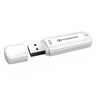 USB 2.0  16GB TRANSCEND JetFlash 370 White (TS16GJF370)