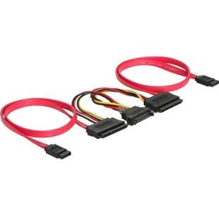 Cablu PC; SATA M la SATA M; 0.4m