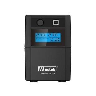 UPS  MUSTEK PowerMust  636 LCD (650VA) Line Interactive, IEC (include timbru verde 3 lei)