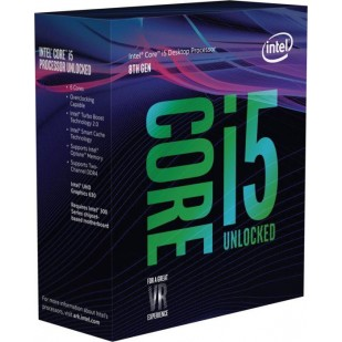 "CPU INTEL skt. 1151  Core i5 Ci5-8600K, 3.6GHz, 9MB   ""BX80684I58600K"""