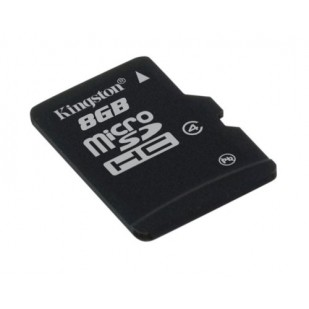 MICRO SD CARD KINGSTON; model: SDC4/8GBSP; capacitate: 8 GB; clasa: 4; culoare: NEGRU
