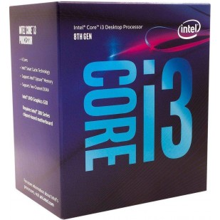 "CPU INTEL skt. 1151  Core i3 Ci3-8300, 3.7GHz, 8MB   ""BX80684I38300"""