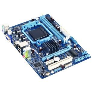 Placa de baza GIGABYTE; model: 78LMT-S2; socket: AM3+; RAM: DD-RAM3; PCI-E; 2xPCI; format: MICRO ATX
