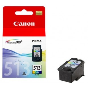 Cartus cerneala Original Canon CL-513 Color, compatibil MP240/MP260, 349 Copies (BS2971B001AA)