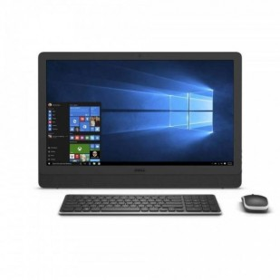 Aio DELL, INSPIRON 3464 AIO,  Intel Core i3-7100U, 2.40 GHz, HDD: 1 TB, RAM: 4 GB, unitate optica: DVD RW, video: Intel HD Graphics 620, webcam