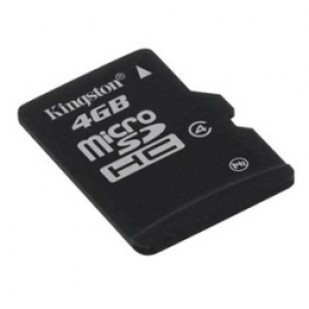 MICRO SD CARD KINGSTONE; model: SDC4/4GB