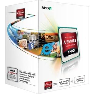 "CPU AMD skt FM2 A6  X2 6400K 4.10/3.90GHz, 1MB cache,  65W, BOX ""AD640KOKHLBOX"""