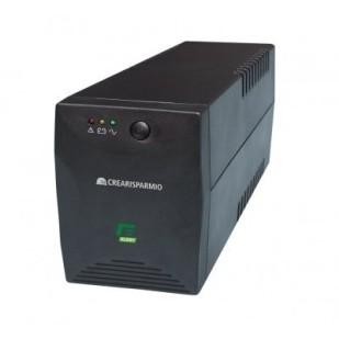 UPS ELSIT; model: CREARISPARMIO 1800; format: TOWER; iesiri: 2; baterii NOI; stare: NOU