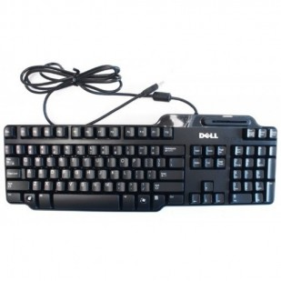 Tastatura DELL model card reader layout NOR NEGRU USB