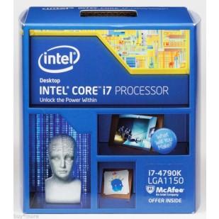 "CPU INTEL skt. 1150  Core i7 Ci7-4790K, 4.0GHz, 8MB  BOX ""BX80646I74790K"""