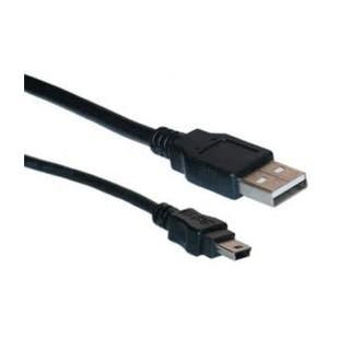 Cablu USB 2.0, A(T) - Mini 5P (T), 1,8m, Logilink (CU0014)