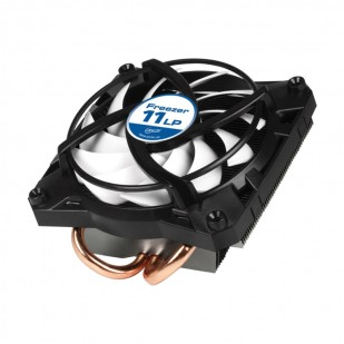 "COOLER CPU ARCTIC ""Freezer 11 LP"", INTEL, soc 115x/775, Al-Cu, 2* heatpipe, low profile, 100W (UCACO-P2000000-BL)"