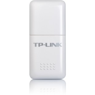 Adaptor Wireless N USB 150Mbps, antena integrata, frecventa 2.4-2.4835GHz, buton QSS, standarde iEEE 802.11n/g/b, cu CD de instalare si manual, Alb, TP-LINK (TL-WN723N)