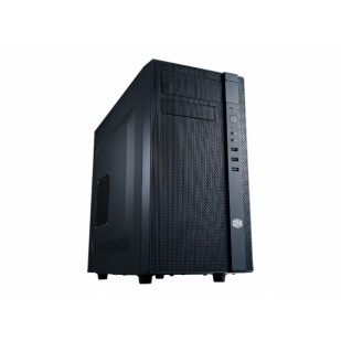 "CARCASA COOLER MASTER  N200, mini-tower, mATX, 2* 120mm fan (inclus), I/O panel, black ""NSE-200-KKN1"""