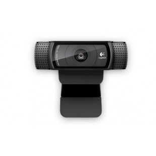 "CAMERA WEB Logitech Webcam C920, FullHD 1920x1080, 15MP Sensor, Microfon, Carl Zeiss lens, USB 2.0 ""960-000768""  (include timbru verde 0.01 lei)"