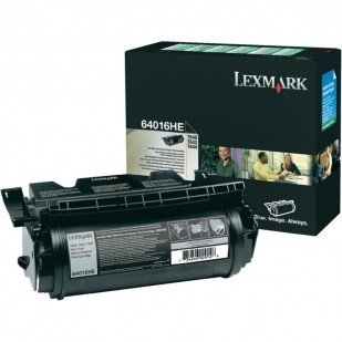 Toner Original pentru Lexmark Negru, compatibil Optra T640/642/644, 21000pag (64016HE)