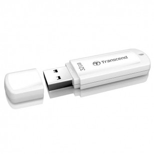 USB 2.0  32GB TRANSCEND JetFlash 370 White (TS32GJF370)