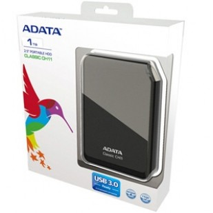 "HDD EXTERN ADATA; model: ACH11-1TU3-CBK; 1000GB; 2.5""; USB 3.0"