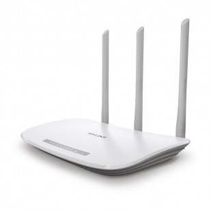 ROUTER 4 PORTURI WIRELESS 300Mbps 3T3R TP-LINK , 3 antene fixe (TL-WR845N)