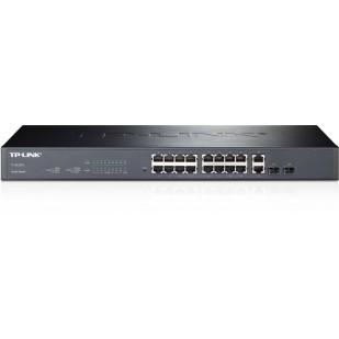 Switch L2 16 porturi 10/100Mbps + 2 porturi 10/100/1000Mbps + 2 sloturi SFP Gigabit TP-LINK TL-SL2218