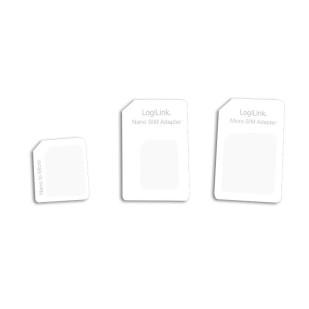 "Adaptor SIM (nano-micro/nano-standard/micro-standard), Logilink ""AA0047"""