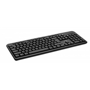 TASTATURA SPACER QWERTY 104 keys + 11 hotkeys, multimedia, anti-spill, USB (SPKB-169)