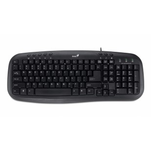 Tastatura Multimedia USB Genius KB-M200, Black (31310049102)