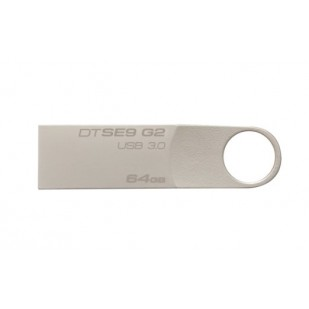 USB STICK KINGSTON; model: DTSE9G2/64GB DATATRAVEL; capacitate: 64 GB; interfata: 3.0; culoare: GRI