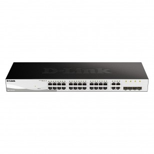 SWITCH D-LINK; model: DGS-1210-24; PORTURI: 24 x 10/100/1000, 4 Combo SFP