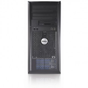 Dell, OPTIPLEX 755, Intel Core 2 Quad Q6600, 2.40 GHz, video: Intel GMA 3100; TOWER