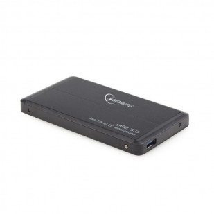 "RACK EXTERN 2.5"" HDD S-ATA TO USB 3.0, black,  GEMBIRD (EE2-U3S-2)"