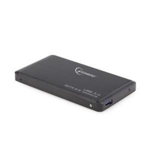 "RACK EXTERN 2.5"" HDD S-ATA TO USB 3.0, black,  GEMBIRD (EE2-U3S-2)"
