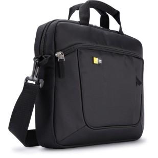 """Geanta ultrabook 15.6"""" Case Logic, buzunar interior 10.1"""", buzunar frontal, poliester, black """"AUA316"""""""