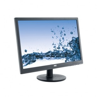 "MONITOR AOC 24"" LED, 1920x1080, 1ms, 250cd/mp, vga+dvi (E2460SD2)"