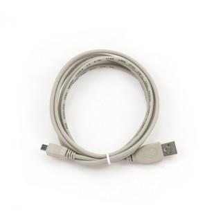 Cablu PC; USB 2.0 A M la mini-USB M 8 pini; 1.8m