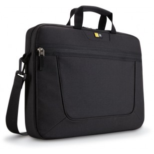 "Geanta laptop 15.6"" Case Logic, compartiment frontal de volum mare, buzunar frontal, poliester, black ""VNAI215""  674664001001; ""ACC-CAS0101003"""