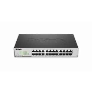 Switch Smart 24-port-uri Gigabit, 11inch 1U rack-mountable, D-LINK (DGS-1100-24)