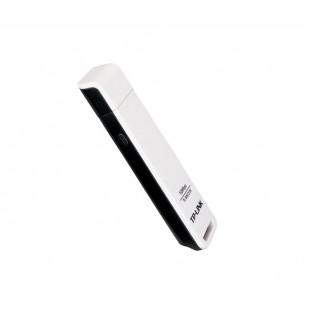 Adaptor Wireless USB 150Mb/s, antena integrata omnidirectionala, frecventa 2.4-2.4835GHz, standarde iEEE 802.11n/g/b, cu CD de instalare si manual, Alb, TP-LINK (TL-WN727N)