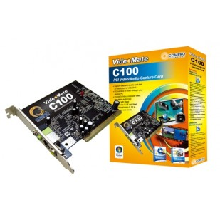 Placa de captura COMPRO VideoMate C100, PCI