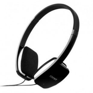 Casti EDIFIER  Stereo, microfon, control volum pe fir, black (K680)