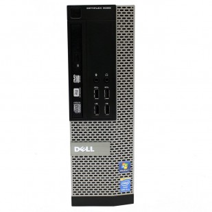Usff DELL, OPTIPLEX 9020,  Intel Core i3-4130, 3.40 GHz, HDD: 120 GB SSD, RAM: 4 GB, video: Intel HD Graphics 4400