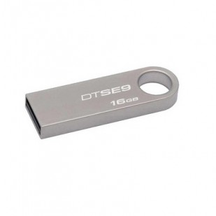 USB Stick KINGSTON 16GB DataTraveler SE9, Gray (DTSE9H/16GB)